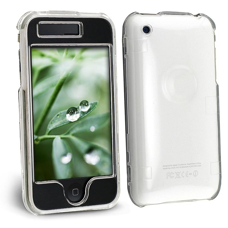 INSTEN Clear Crystal Phone Case Cover for Apple iPhone 3G/ 3GS