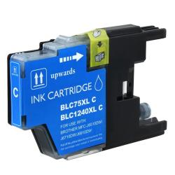 Insten Cyan Non-OEM Ink Cartridge Replacement for Brother LC75C/ LC71C - Thumbnail 0