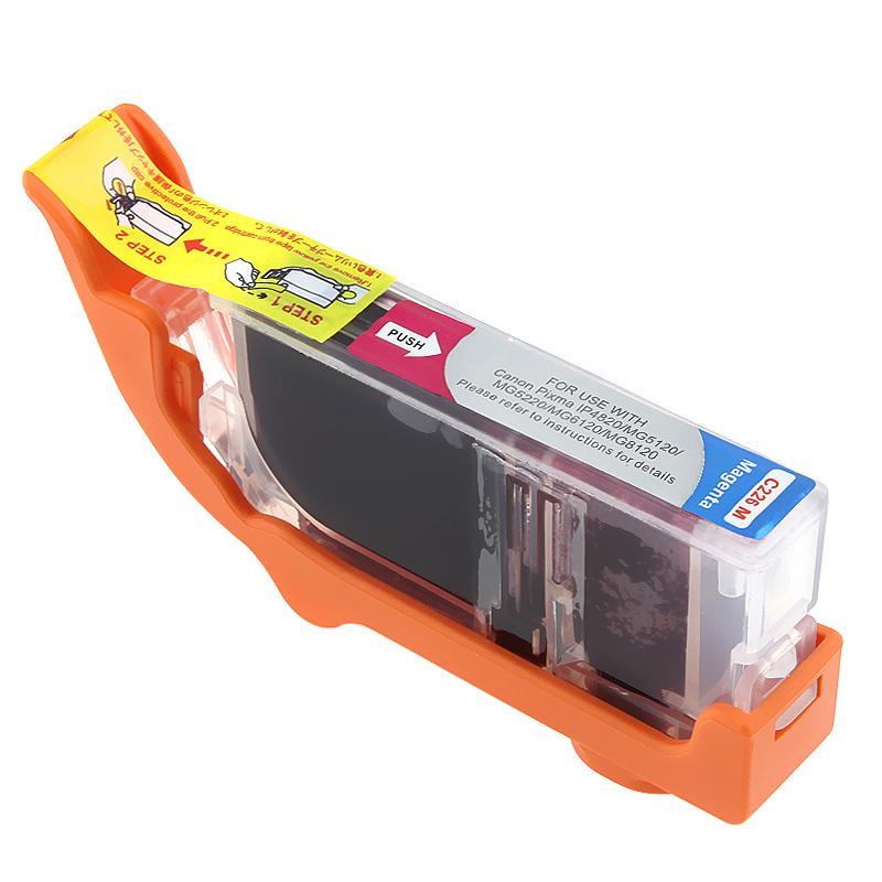Insten Magenta Non-OEM Ink Cartridge Replacement for Canon CLI-226M/ 226 M - Thumbnail 0