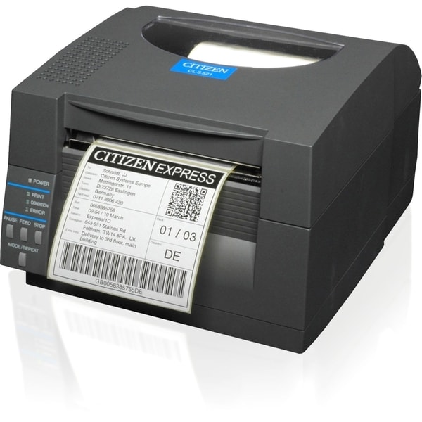 Citizen CL-S521 Direct Thermal Printer - Monochrome - Desktop - Label