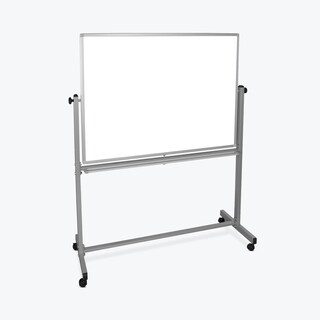 Luxor MB4836WW Reversible Magnetic Whiteboard/ Whiteboard