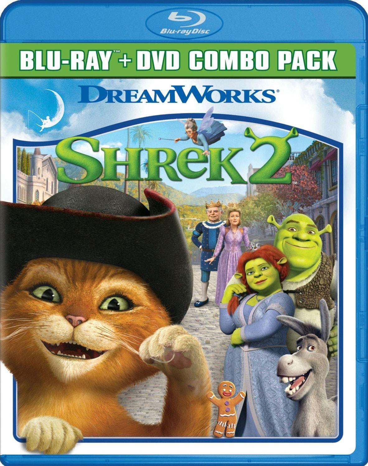 Shrek 2 (Blu-ray/DVD)