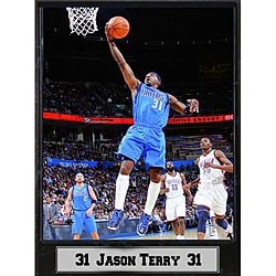 Dallas Mavericks Jason Terry Photo Plaque