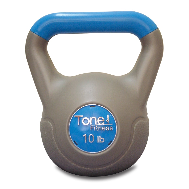 Tone Fitness 10 Pound Kettlebell Free Shipping On Orders