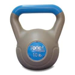 Tone Fitness 10-pound Kettlebell|https://ak1.ostkcdn.com/images/products/6006375/75/834/Tone-Fitness-10-pound-Kettlebell-P13692101.jpg?impolicy=medium
