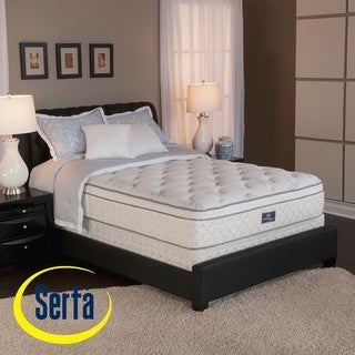 Serta Perfect Sleeper Conviction Euro Top King-size Mattress and Box Spring Set