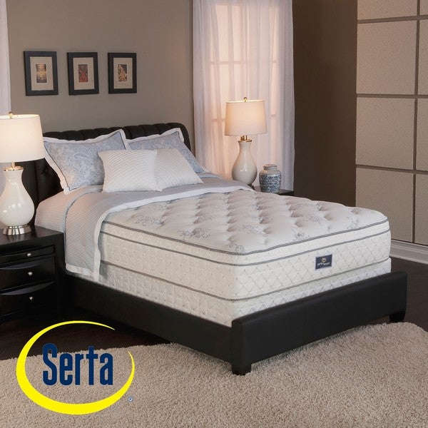 Shop Serta Perfect Sleeper Conviction Euro Top King Size