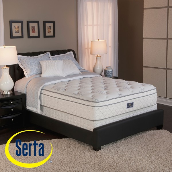 Shop Serta Perfect Sleeper Conviction Euro Top Full Size