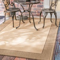 Copper Grove Portumna Solid Border Outdoor/ Indoor Area Rug (7'10 x 10'10)