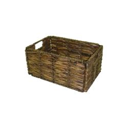Small Two-tone Walnut Storage Baskets (Pack of 6)