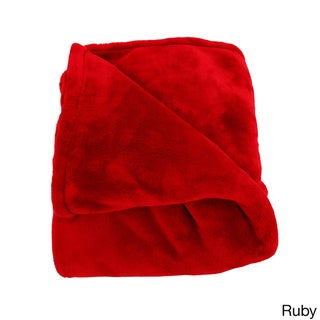 Microfiber Oh-So-Soft Queen Blanket