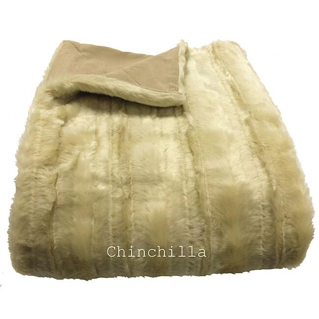 Chinchilla Oversized Throw