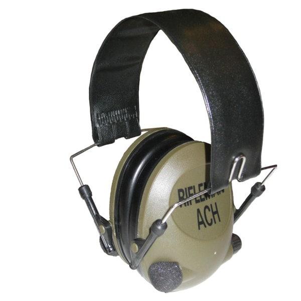 Altus Brands Rifleman RFACH Rifleman ACH Low Profile Electronic Hearing Protection Ear Muffs