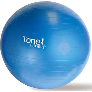 Tone Fitness 65cm Anti-burst Stability Ball|https://ak1.ostkcdn.com/images/products/6006739/P13692386.jpg?impolicy=medium