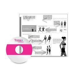Tone Fitness 65cm Anti-burst Stability Ball - Thumbnail 2