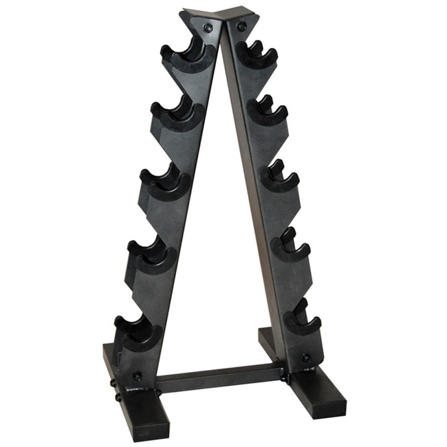 CAP Barbell Black 'A' Frame Dumbbell Rack - Thumbnail 0
