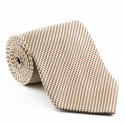 Platinum Tie Men's 'Birch Runner' Striped Tie