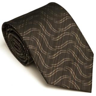 Platinum Ties Men's 'Charcoal Suave' Tie