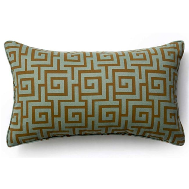 12 x 20-inch Grey Puzzle Outdoor Throw Pillow