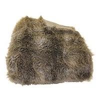 Wolf Faux Fur Throw