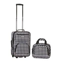 Rockland Expandable Kensington 2-piece Lightweight Carry-on Luggage Set