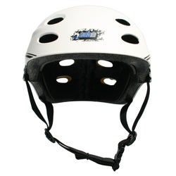 MBS 'Grafstract' White Large/ XLarge Helmet - Thumbnail 1