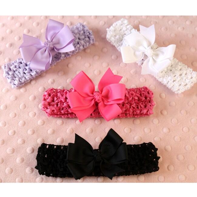 Sunday 8-piece Headbands and Bows Set