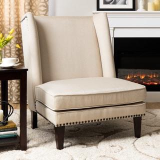 Wing Chair Natural Linen