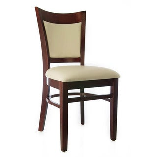 Hyatt Dark Mahogany Beechwood Side Chairs