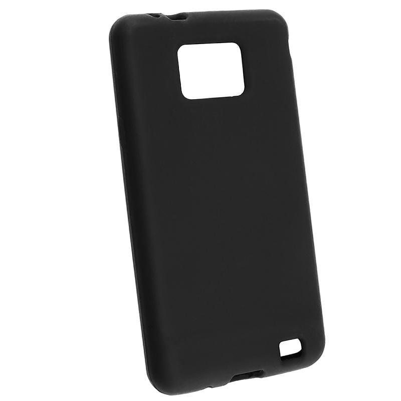 Black Silicone Case for Samsung Galaxy S 2 GT-i9100