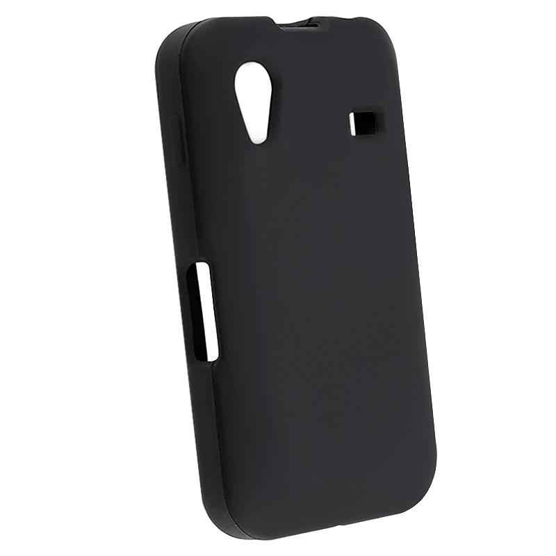Black Silicone Case for Samsung Galaxy Ace GT-S5830