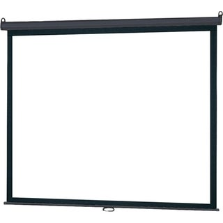 "InFocus SC-MAN-84 Manual Projection Screen - 84"" - 16:9 - Wall Mount,"