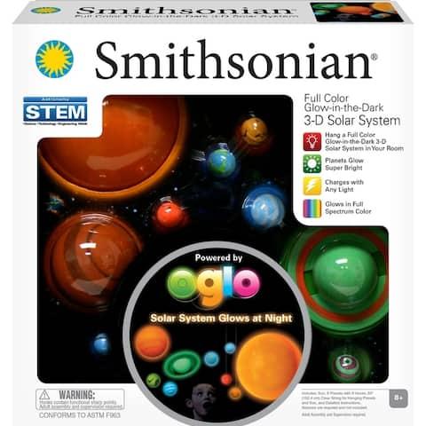 Smithsonian 3D Glowing Solar System Set