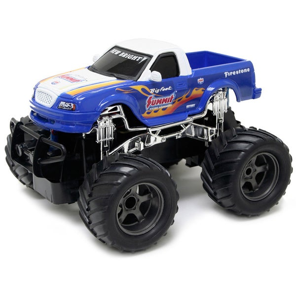 new bright 1 24 rc monster truck big foot summit free. Black Bedroom Furniture Sets. Home Design Ideas