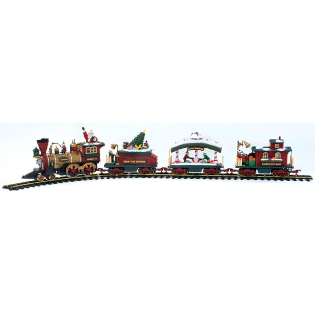 New Bright Holiday Express Animated Electric Train Set