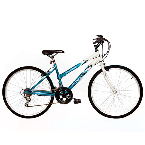 Titan Wildcat Women's White/ Teal Mountain Bike