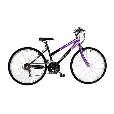 Titan Wildcat Women's 18-Speed Mountain Bike, Purple & Black