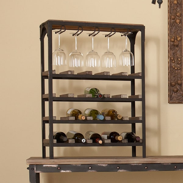 angelo:HOME Bowery Wine Storage Table