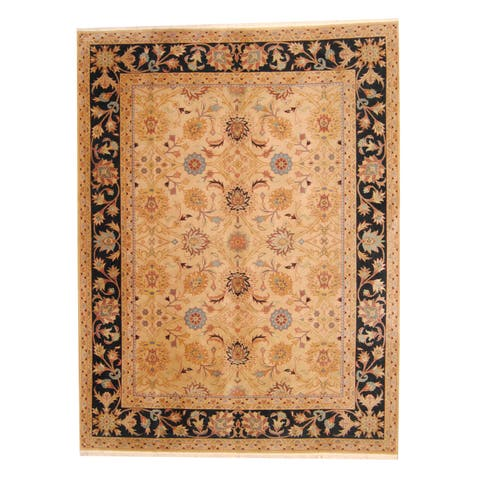 "Handmade Herat Oriental Indo Mahal Wool Rug (India) - 8'9"" x 11'7"""
