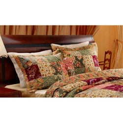 Greenland Home Fashions Antique Chic King-size Pillow Shams (Set of 2)