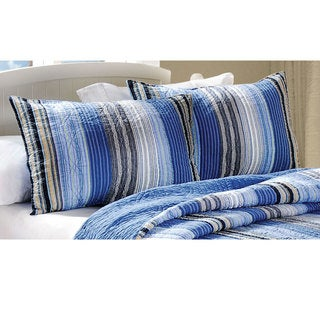 Greenland Home Fashions Brisbane King-size Pillow Shams (Set of 2)