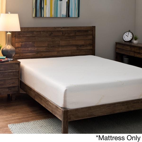 comfort dreams coolmax 10inch queensize memory foam mattress