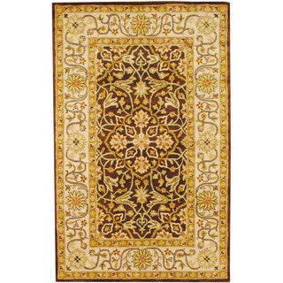 Herat Oriental Indo Hand-tufted Wool Rug (5' x 8')