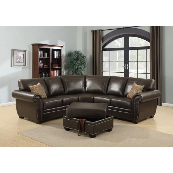 Shop Louis 3-piece Sectional Sofa - On Sale - Free Shipping ...