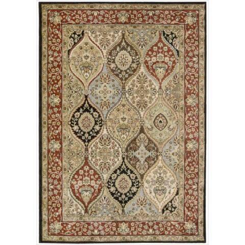 "Nourison Gramercy Multi Wool-Blend Oriental Rug - 5'3"" x 7'5"""