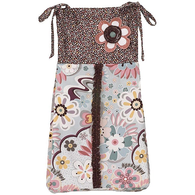 Cotton Tale Penny Lane Diaper Stacker - Holds approximately 4 dozen newborn diapers
