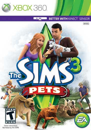 Xbox 360 - The Sims 3 Pets - By Electronic Arts