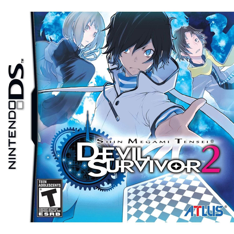 Nintendo DS - Shin Megami Tensei: Devil Survivor 2 - By Atlus
