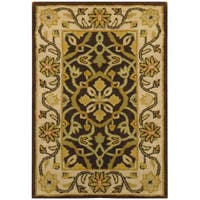 Herat Oriental Indo Hand-tufted Oushak Wool Rug (2' x 3') - 2' x 3'