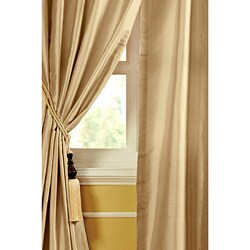 Mallory Dupioni Silk 96-inch Curtain Panel